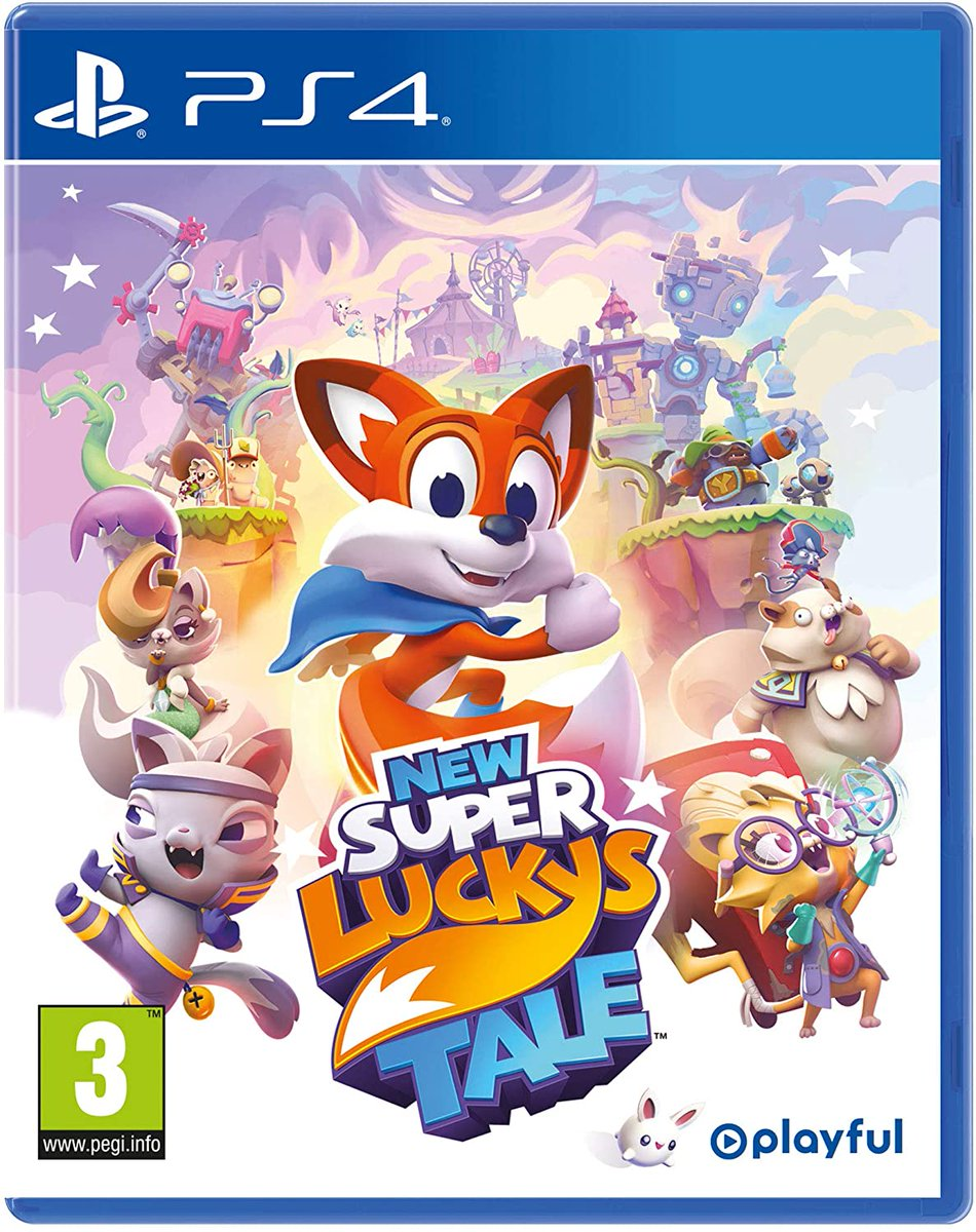 Capa New Super Lucky's Tale