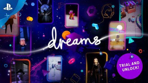 Vivendo o sonho: Dreams vai receber demo gratuita na PS Store