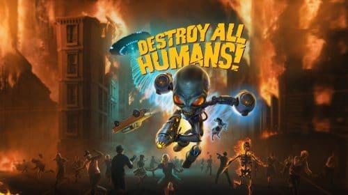 Destroy All Humans! ganha trailer com vacas e muita destruição