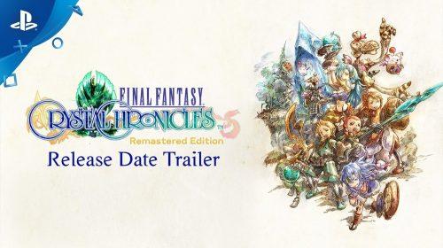 Final Fantasy Crystal Chronicles Remastered chegará ao PS4 em agosto