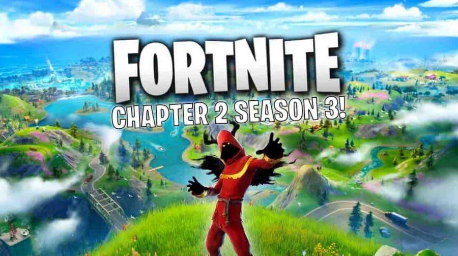 3ª temporada de Fortnite: Capítulo 2 estreia em 11 de junho