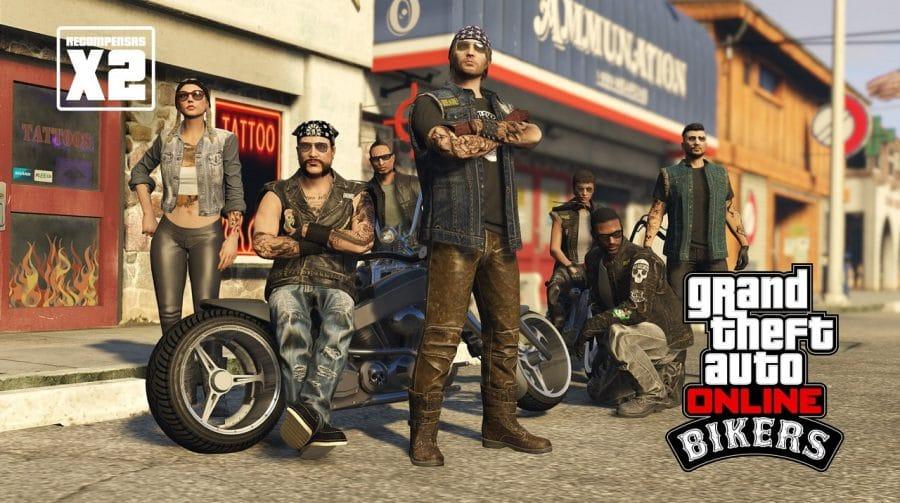 GTA Online está com bônus especiais para os Motoqueiros