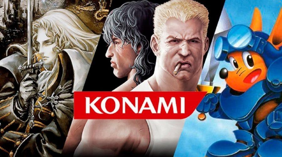 Konami registra crescimento de 8,3% em receitas de jogos