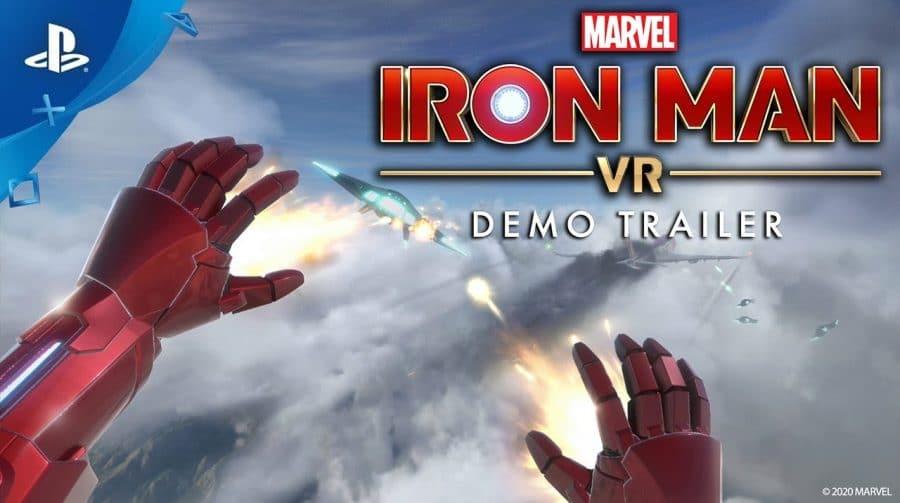 Marvel's Iron Man VR ganha DEMO gratuita na PS Store