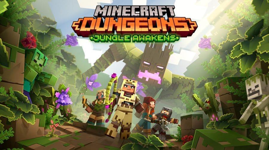 Minecraft Dungeons: DLCs são anunciados e primeiro chegará em julho