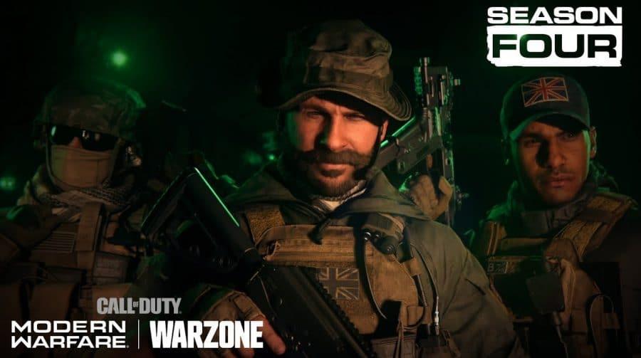 Season 4 de Modern Warfare começa em 3 de junho com Capitão Price