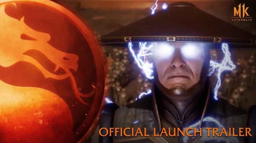 Mortal Kombat 11: Aftermath recebe trailer de lançamento empolgante