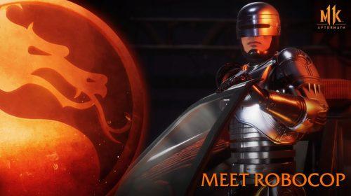 Mortal Kombat 11: Aftermath - Conheça RoboCop