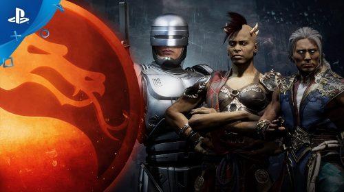 Mortal Kombat 11: vídeo mostra Robocop, Fujin e Sheeva quebrando tudo