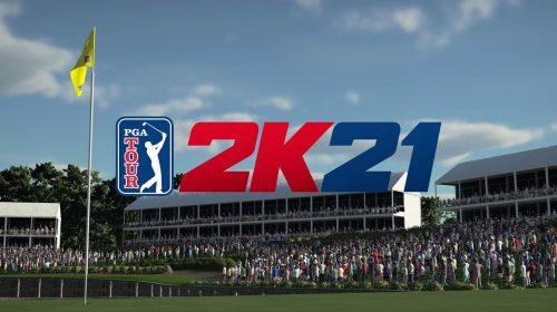 Dos criadores de NBA 2K, PGA Tour 2K é revelado com foco no golfe