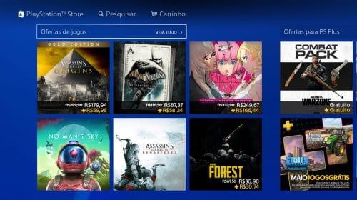 Promoção na PSN: Sony oferece descontos em dobro para membros PS Plus