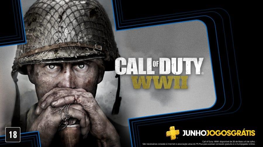 Sony vai dar Call of Duty: WW2 na PS Plus de junho