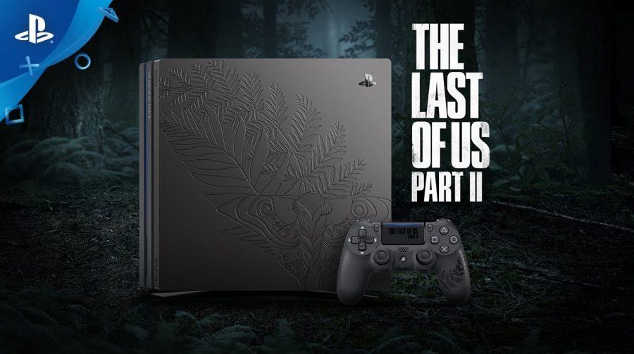 Sony anuncia chegada de belo PS4 Pro inspirado em The Last of Us 2 no Brasil