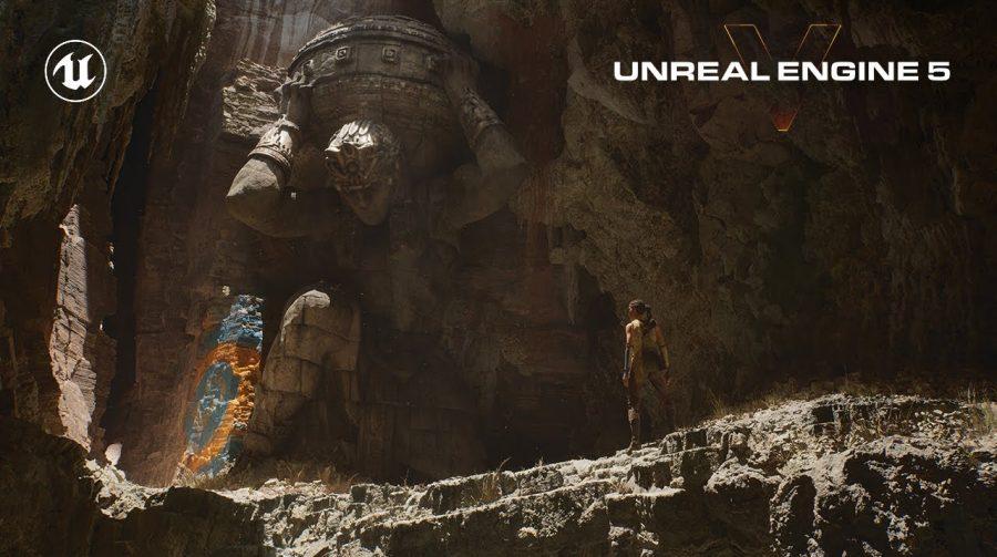 Vem, nova geração: Unreal Engine V é revelada no PS5 com visual incrível