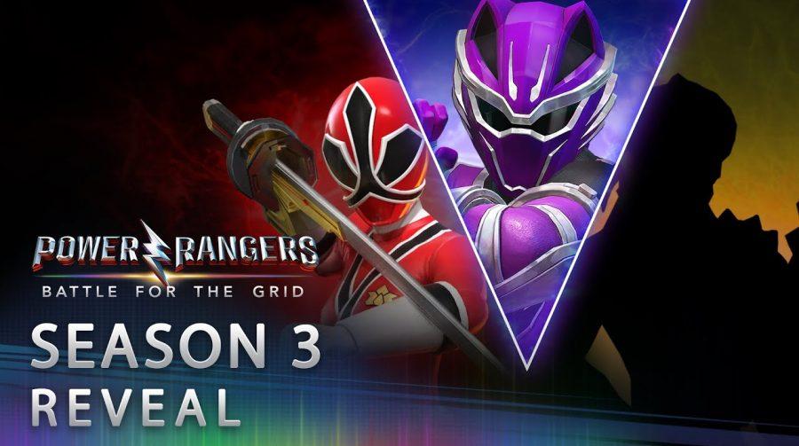 Power Rangers Battle for the Grid - Revelação da 3ª Temporada