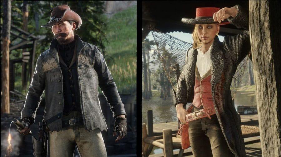 Update em Red Dead Online traz peças de vestuário limitadas