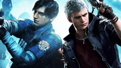 Devil May Cry 5 e Resident Evil 2 são destaques em vendas da Capcom