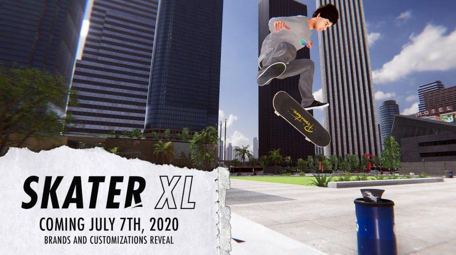Só os loucos sabem: Skater XL chegará ao PS4 em 7 de julho