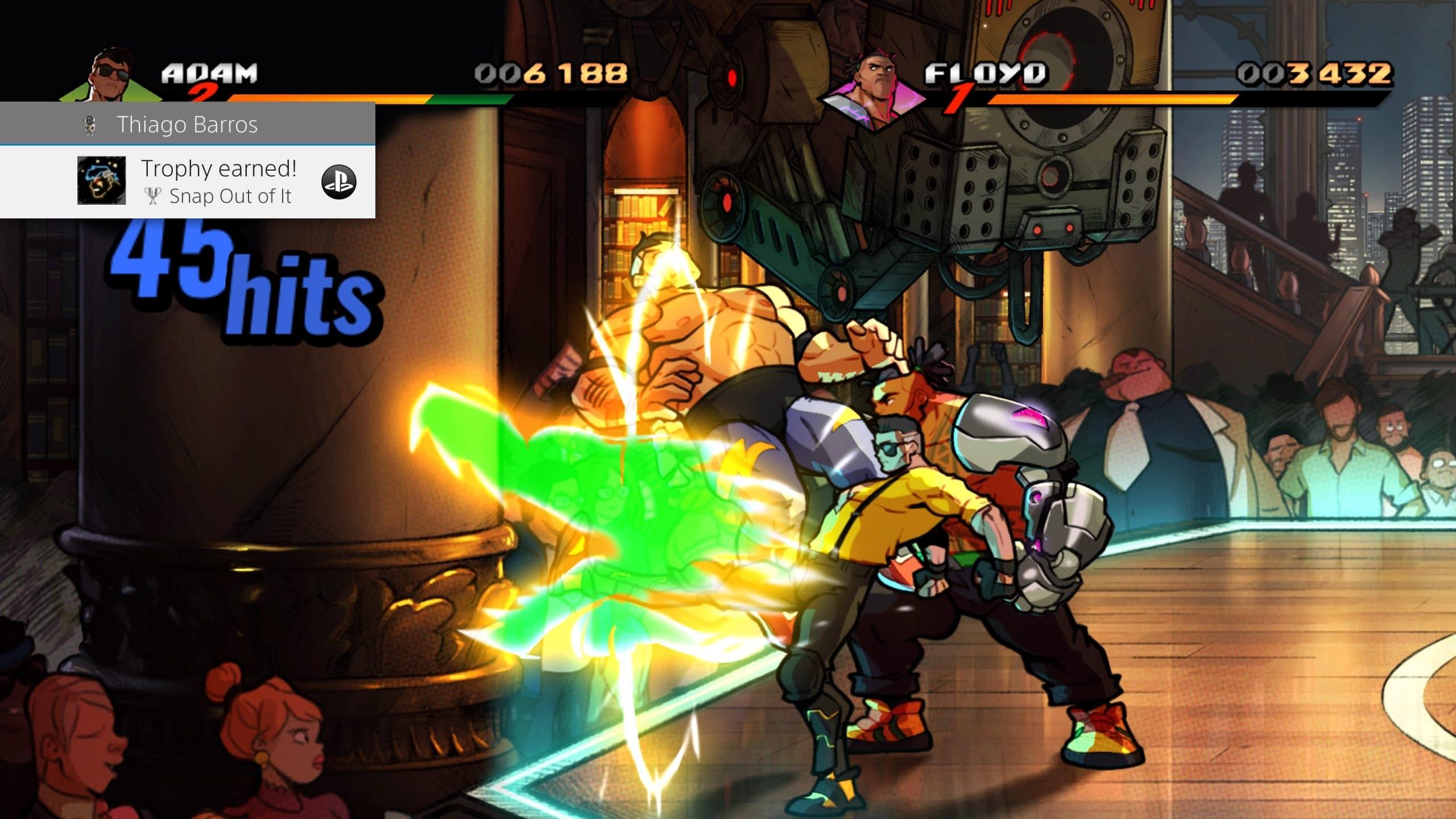 Combate em Streets of Rage 4 é bem divertido