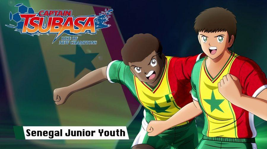 Captain Tsubasa: Rise of New Champions - Senegal Junior Youth Trailer