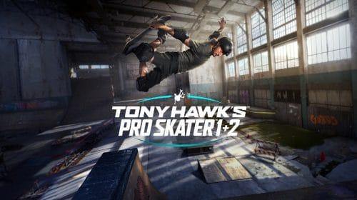 [Jogamos] Tony Hawk's Pro Skater 1+2 é o clássico em sua melhor forma
