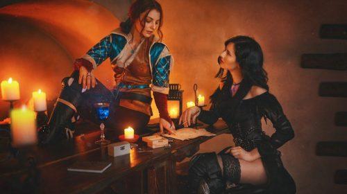 The Witcher: cosplayers reproduzem Yennefer e Triss com precisão incrível
