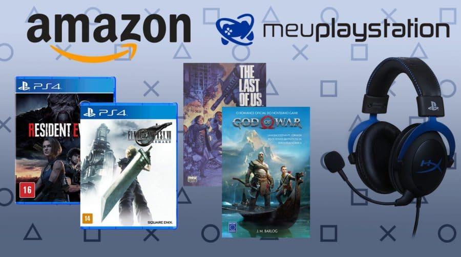 MeuPlayStation e Amazon estreitam parceria para descontos em jogos