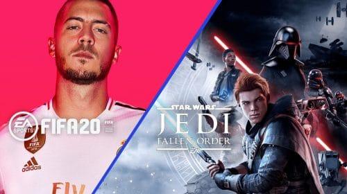 FIFA 20 e SW JEDI: Fallen Order registram ótimos números de vendas