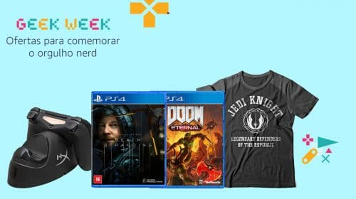 Geek Week: Amazon celebra semana com ótimas ofertas