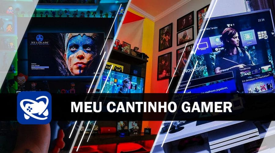 Meu Cantinho Gamer: os gaming rooms mais legais da semana #2