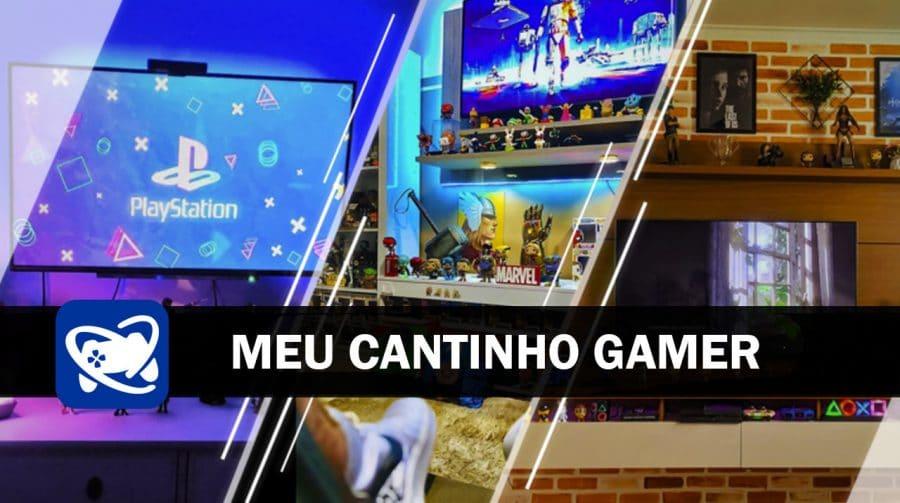 Meu Cantinho Gamer: as gaming rooms mais legais da semana #3