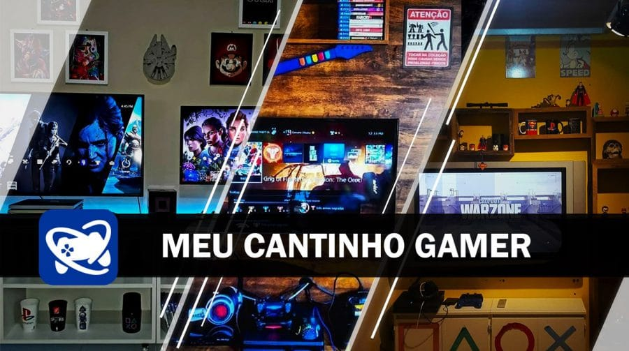 Meu Cantinho Gamer: as gaming rooms mais estilosas da semana #4
