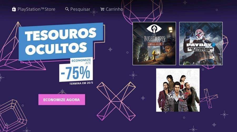 Descontos de até 75%! Sony lança nova promoção de jogos na PS Store