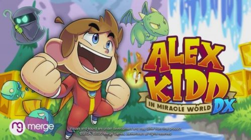 Clássico voltando: Alex Kidd in Miracle World DX é anunciado para PS4