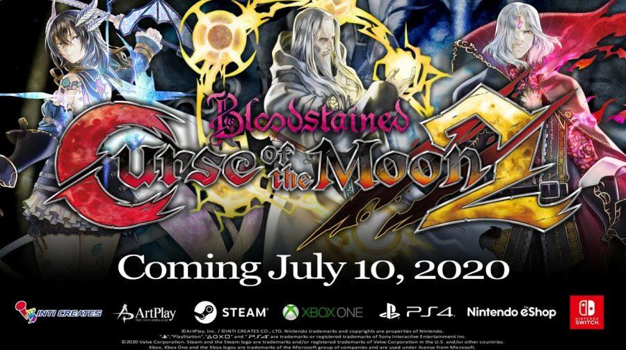 Bloodstained: Curse of the Moon 2 ganha data de lançamento