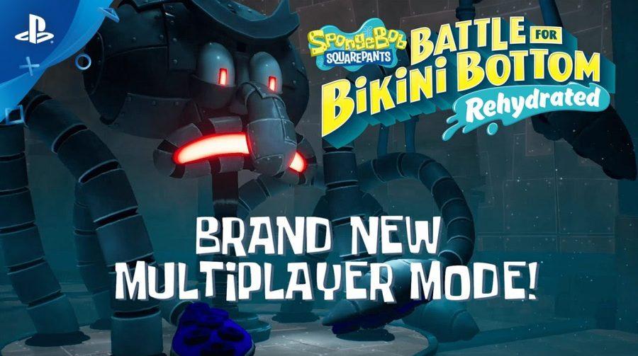 Jogo do Bob Esponja ganha trailer do modo multiplayer