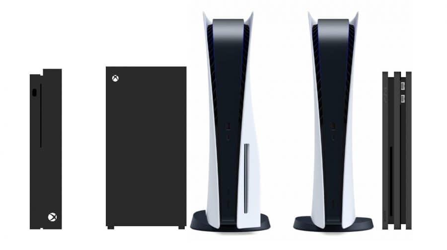 É um monstro! Compare o tamanho do PS5 com outros consoles