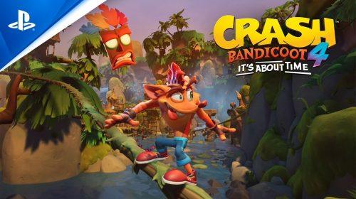 Trailer de anúncio de Crash Bandicoot 4: It's About Time em PT-BR