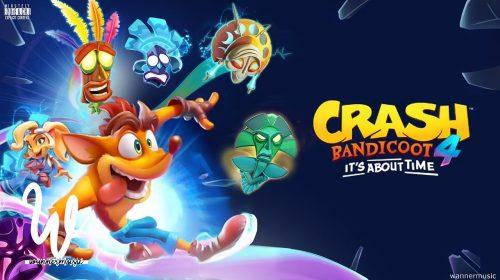 Crash Bandicoot 4: It's About Time vai ser revelado nesta segunda-feira (22)
