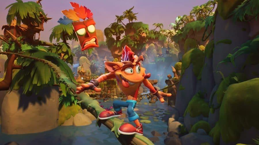 Crash Bandicoot 4: It's About Time recebe novidades na Opening Night Live