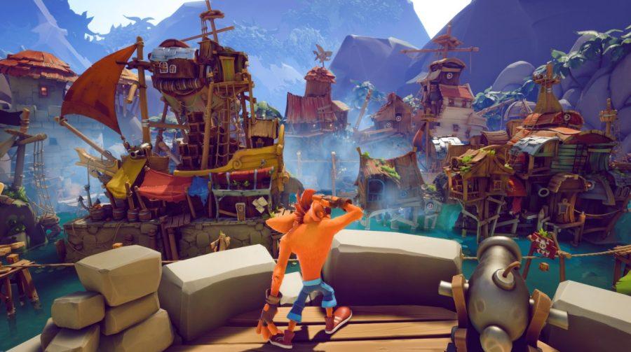 Marsupial marujo? Crash Bandicoot 4 recebe novo gameplay de fase com temática pirata