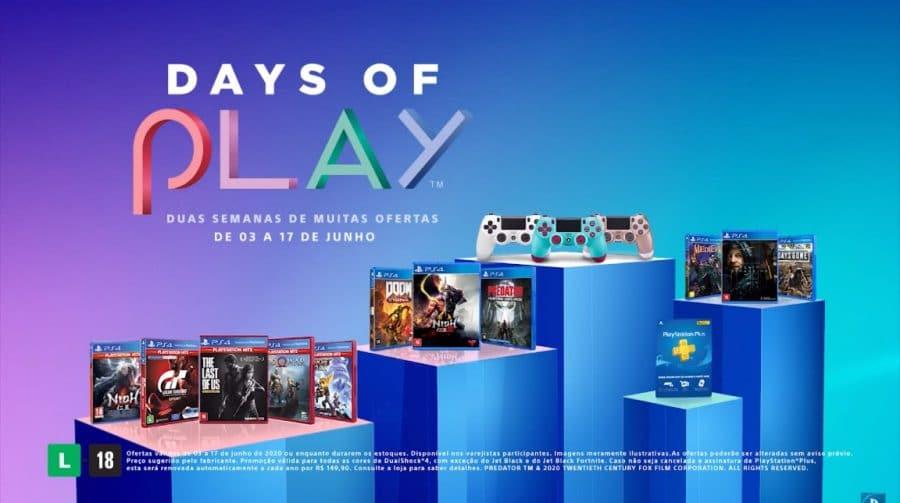 Sony revela descontos da Days of Play: jogos, PS Plus e mais!