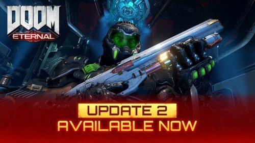 DOOM Eternal ganha Update 2 com várias novidades