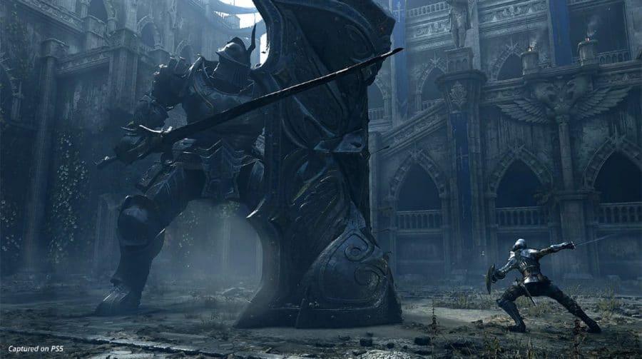 Demon's Souls: Sony divulga bela screenshot de boss fight clássica