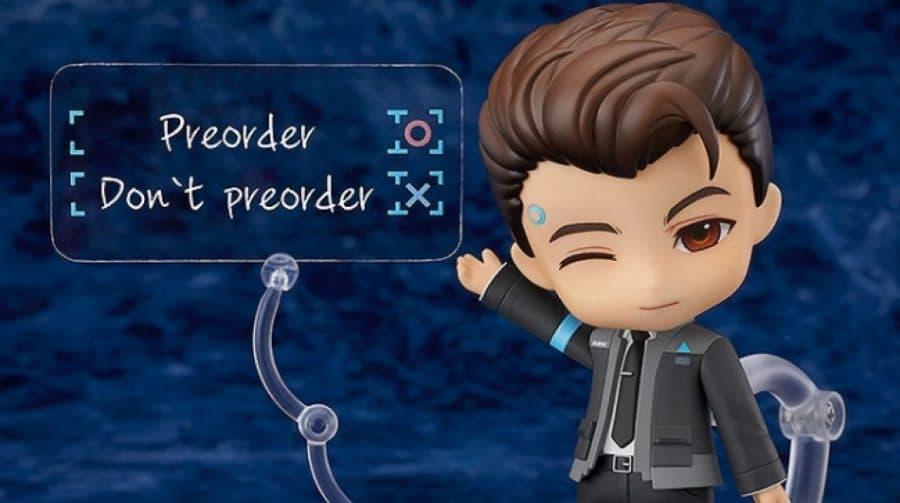 Connor, de Detroit Become Human, recebe versão em Nendoroid