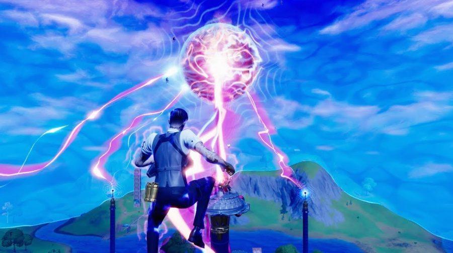 Evento de Fortnite transforma tempestade do jogo em grande cercado de água