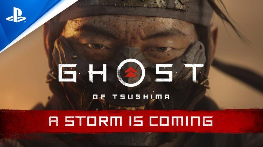 Uma Tempestade se Aproxima: Ghost of Tsushima ganha incrível trailer