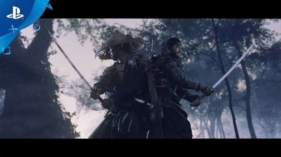 Ghost of Tsushima ganha incrível trailer em japonês