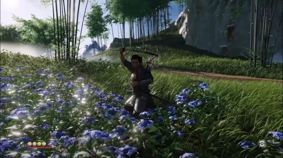 Sony libera pequenos trechos de gameplay de Ghost of Tsushima