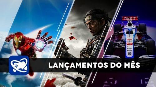Confira os lançamentos de Julho de 2020 para PlayStation 4